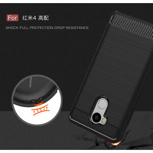 buy popular 271f9 65b42 For Xiaomi Redmi Note 4/4X 360° Shockproof Slim Soft Silicone Rubber ...