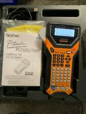 Brother Pt 7600 Handheld Electronic Labeling System With No Adapter
