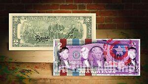 DEREK-JETER-CAPTAIN-AMERICA-PURPLE-by-RENCY-Art-Signed-Giclee-on-2-Bill-Banksy
