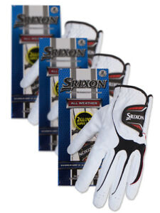 Srixon-All-Weather-Pack-Of-6-Golf-Gloves-White