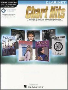 Chart-Hits-for-Clarinet-Instrumental-Play-Along-Sheet-Music-Book-Audio