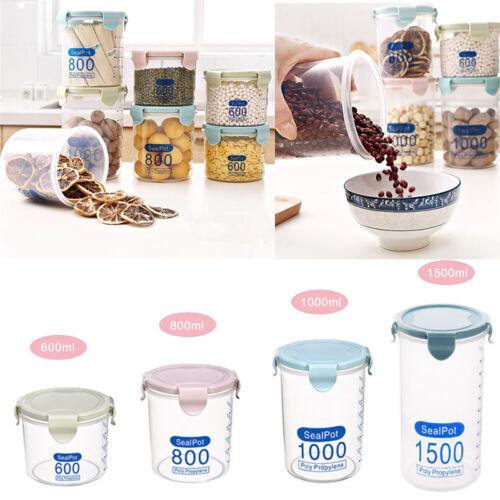Large Capapcity Sealing Food Preservation Clear Plactic Storage Box Kiktchen Kit