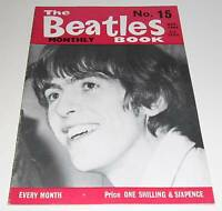 THE BEATLES - MONTHLY BOOK - NUMBER 15 - OCTOBER 1964