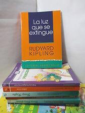 LA LUZ QUE SE EXTINGUE - RUDYARD KIPLING Spanish Literature Libros en Espanol