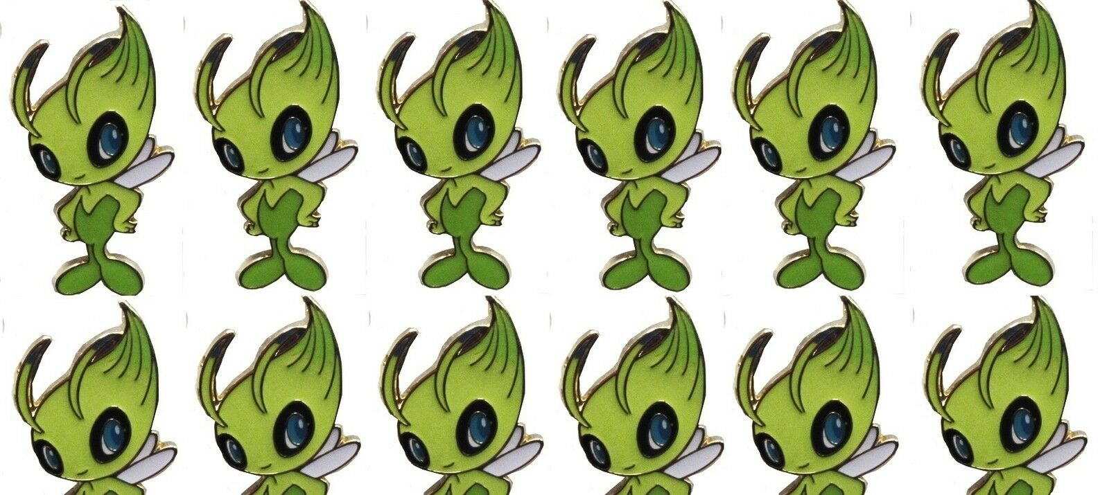 30 x celebi ex legendären sammelbüchse pokemon tcgo pins