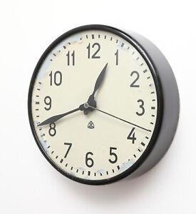 Mid-Century Modern Design Arne Jacobsen wall clock for Laur Knudsen, Industrial
