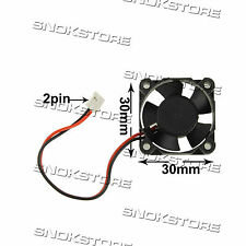 30mm 2-pin VENTOLA ventolina raffredamento COOLING FAN FOR VGA CARD RPM 2500 12V