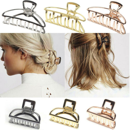 Women Ladies Hair Claw Clamps Small Hair Clip Butterfly Claws Clamps Accessories