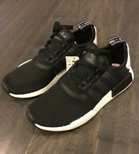 4c742dc176598 Women s Adidas NMD R1 W Shoes Sneakers B37649 Size 7.5 Black Pink ...