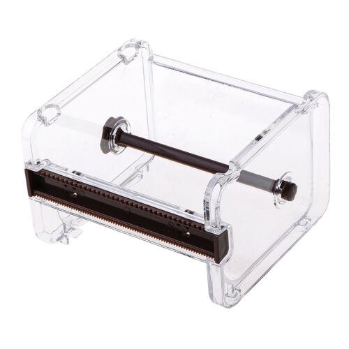 Washi Tape Dispenser Cutters Rollen Klebeband Halter Storage Home Office