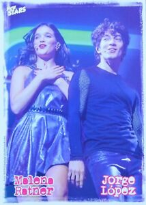 MALENA-RATNER-amp-JORGE-LOPEZ-Star-Card-Foto-Karte-Mini-Poster-Clippings-NEU