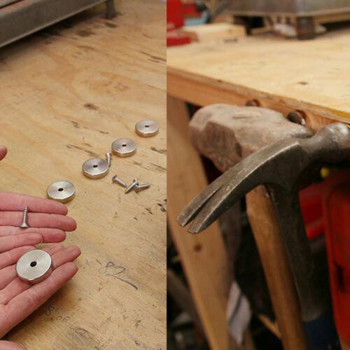 DHL 12 Stück Starke Ring Magnete N50 Neodym Permanentmagnet 20mmx5mm mit Loch