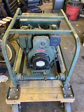 Us Army Surplus Military 3kw 60hz 08pf Diesel Generator Model Mep 016d