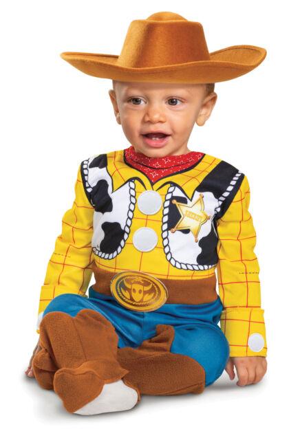 Baby Cowboy Costume Woody Halloween Fancy Dress
