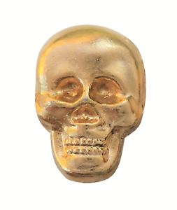 Skull Gilded Symbol For Orange Order Collarette