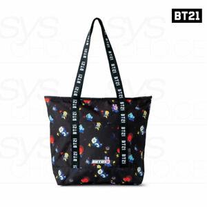 BTS BT21 Official Authentic Goods Space Squad Pattern Shoulder Bag + Tracking Nu