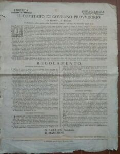 1796-MODENA-E-REGGIO-PROCLAMA-SULLA-COSTITUZIONE-ASSEMBLEE-ED-ELEZIONI-FUTURE