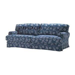 NEW-IKEA-EKESKOG-Sofabed-Sofa-Bed-Cover-Slipcover-Mofalla-Dark-Blue
