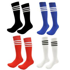 buy online a351f dd9ed Image is loading Boys-Soccer-Socks-4-Pack-Girls-Cotton-Team-