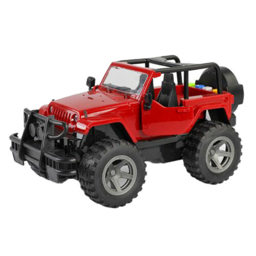 1:16 Diecast Car Toys Gifts 4WD Truck Buggy Inertia Car Toys for Kids Red