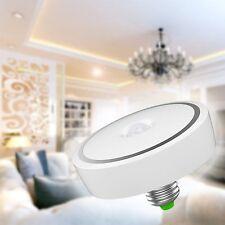 US 12W E27 LED PIR Motion Sensor Detection Light Bulb Lamp Infrared Cool White