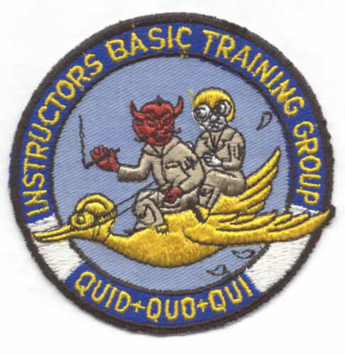 1960s 3510th FLYING TRAINING GPINSTRUCTORS TRAINING patch
