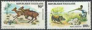 Timbres-Animaux-Togo-PA252-3-lot-17242