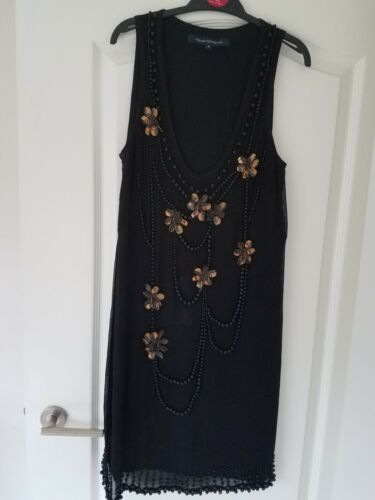 Robe style flapper 10 French taille Bnwot Connection HgBqw5xF e59f9f02f0d