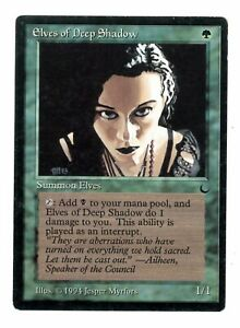 Elves-of-Deep-Shadow-The-Dark-Old-School-MTG-Magic-The-Gathering