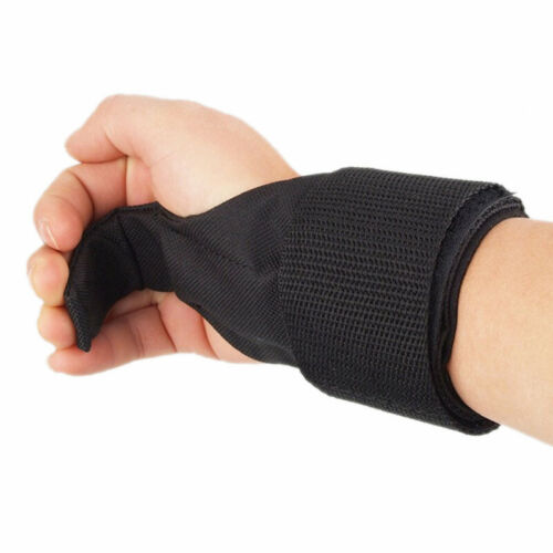 Details about  /Fitness Gloves Weight Lifting Hook Training Gym Grips Straps Wrist Support P jb