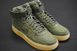 c0bbbc8061f5 922066 202  NEW NIKE KID S GS AIR FORCE 1 HIGH WB MEDIUM OLIVE GUM ...