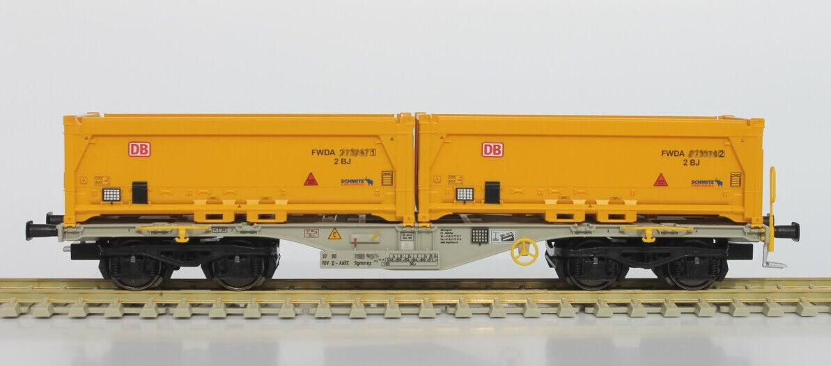 Rocky Rail 40110 cont. WG sgmmns 40 con 2 DB Kipp contenitori n. 37 80 4505 377 4
