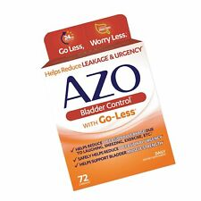 Azo Bladder Control >> Azo Bladder Control With Go Less 72 Capsules Exp December 2019 T2