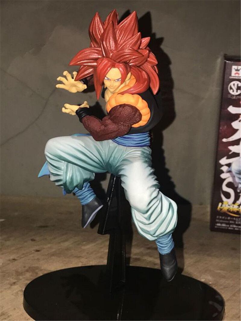 Dragon Ball Z GT SCultures Gogeta Super Saiyan 4 SS4 Red Hair Colosseum Figure 6