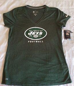 New York Jets Nike Ladies Women s NWT Dri-Fit T-Shirt (Size L)  057286294