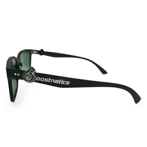 Boostnatics Real Carbon Fiber Boosted Turbo Shades Sunglasses Polarized Blue