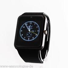 Handy-Uhr GT08 SmartWatch  Android +IOS Black Bluetooth