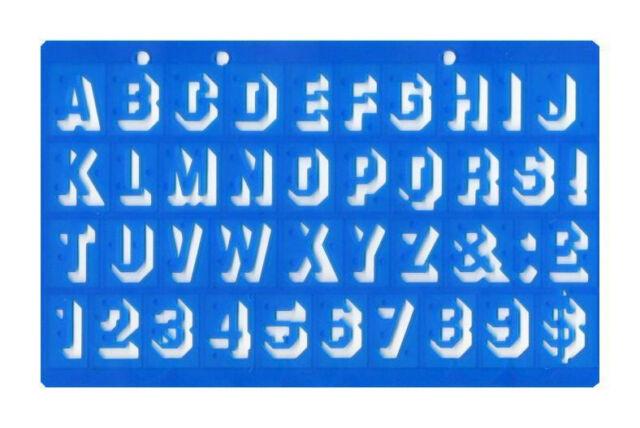 Plastic letter stencils upper case shadow 125mm x 198mm letters 20mm shadow 3d font upper case alphabet letters number stencil template school spiritdancerdesigns Image collections
