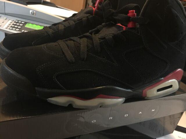 2b266f23f35 2010 Nike Air Jordan VI 6 Retro Black Red Bred 11 for sale online | eBay
