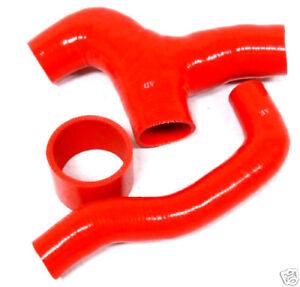 OBX Red Silicone Turbo Hose Kit For 2002-2005 Subaru Impreza WRX EJ20T