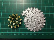 D017 Flower Quilling Rolled Cutting Die for Sizzix Spellbinders Etc. Machine