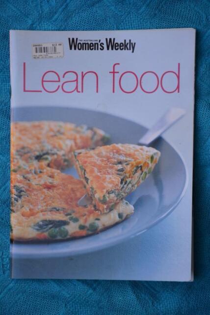 Australian Women's Weekly LEAN FOOD Cookbook-ACP Publishing