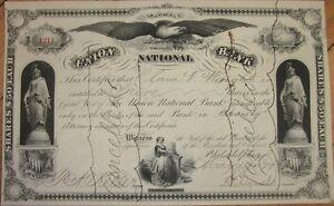 1879-Stock-Certificate-039-Union-National-Bank-039-Philadelphia-Pennsylvania-PA
