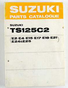 TS125C2-Suzuki-farm-bike-as-new-Nov-1977-illustrated-parts-book