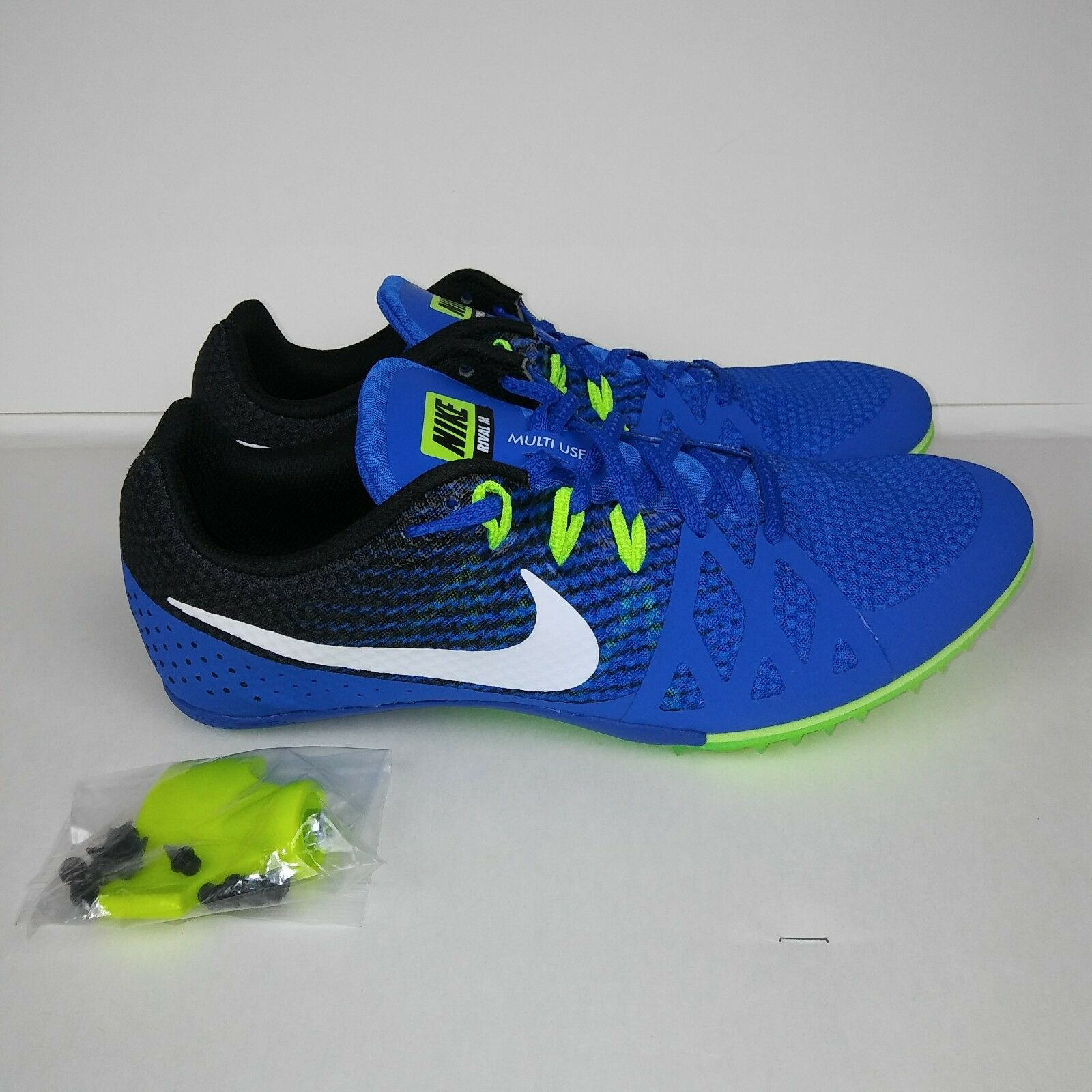 NIKE Zoom Rival M Track Bleu Racing Running Spikes Chaussures Bleu Track vert Hommes ec1cc2