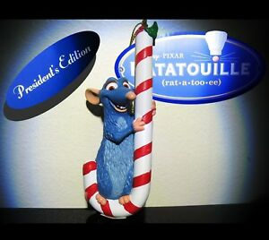 New-Rare-Remy-Rat-Ratatouille-Disney-Presidents-GROLIER-Christmas-tree-ornament