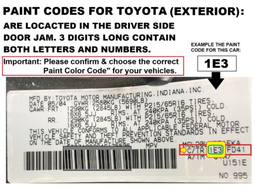 Toyota Camry For 92-96 Cashmere Beige Metallic 4M9 Door Handle Rear Driver LEFT