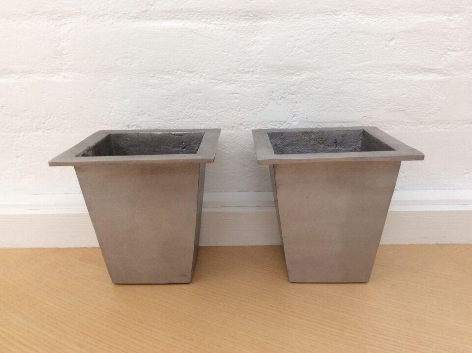 Krukker Urtepotteskjuler Vaser, Støbt Aluminium
