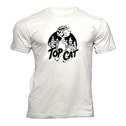 TOP CAT RETRO CARTOON T Shirt