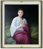 Framed Hand Painted Oil Painting Repro Bouguereau, William Psyche 20x24in